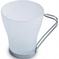 Чашка Венера Фрост стеклянная матовая 250 мл, от 10 шт