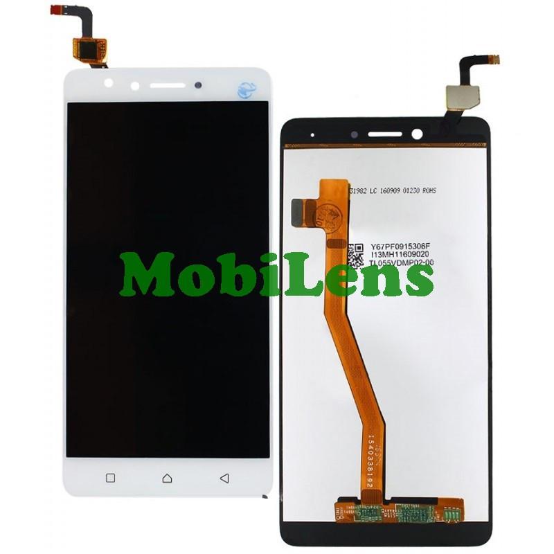 Lenovo K6 Note, K53a48 Дисплей+тачскрин(модуль) белый