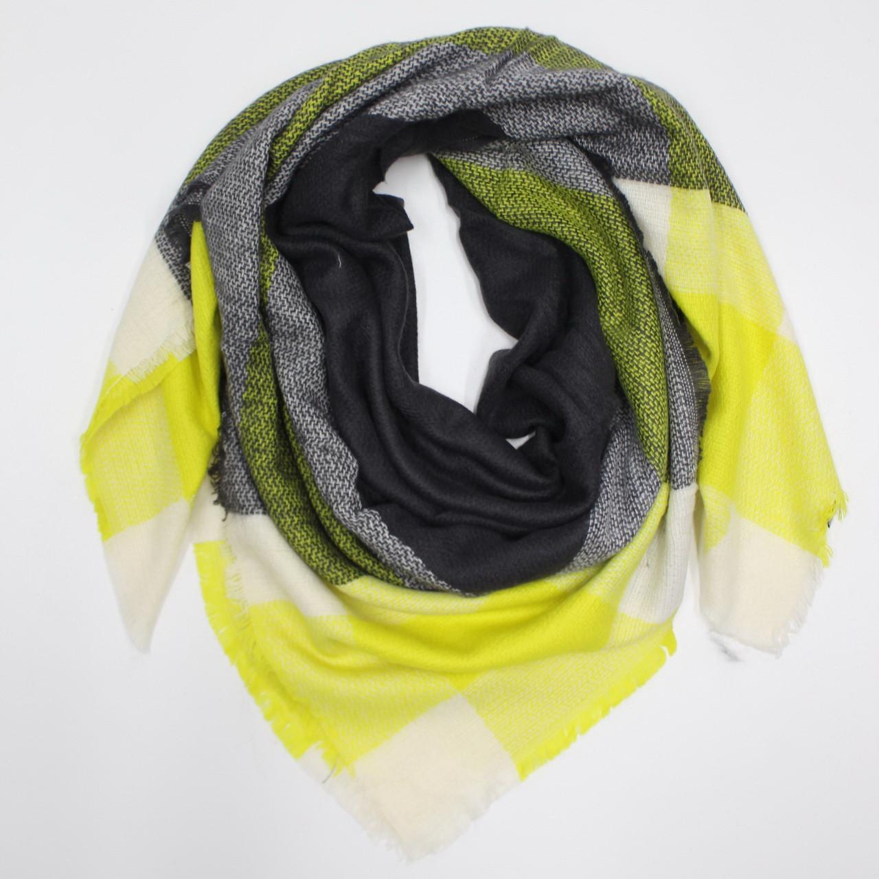 Большой теплый платок Cashmere 214006