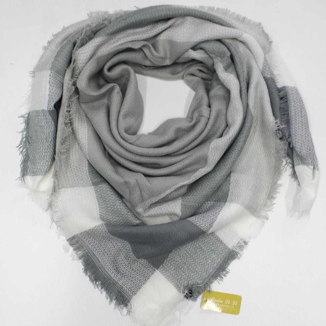 Большой теплый платок Cashmere 214014