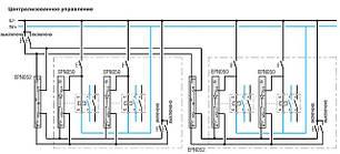 Доп. пристрій для централізованого управління, (Hager), фото 2