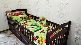 Детский полуторный комплект постельного белья Маквин бязь голд    Дитяча постільна білизна   Постельное белье