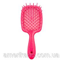 Расческа для волос розовая JANEKE Superbrush