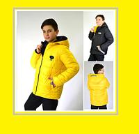 Куртка детская демисезонная на мальчика рост (152-170)