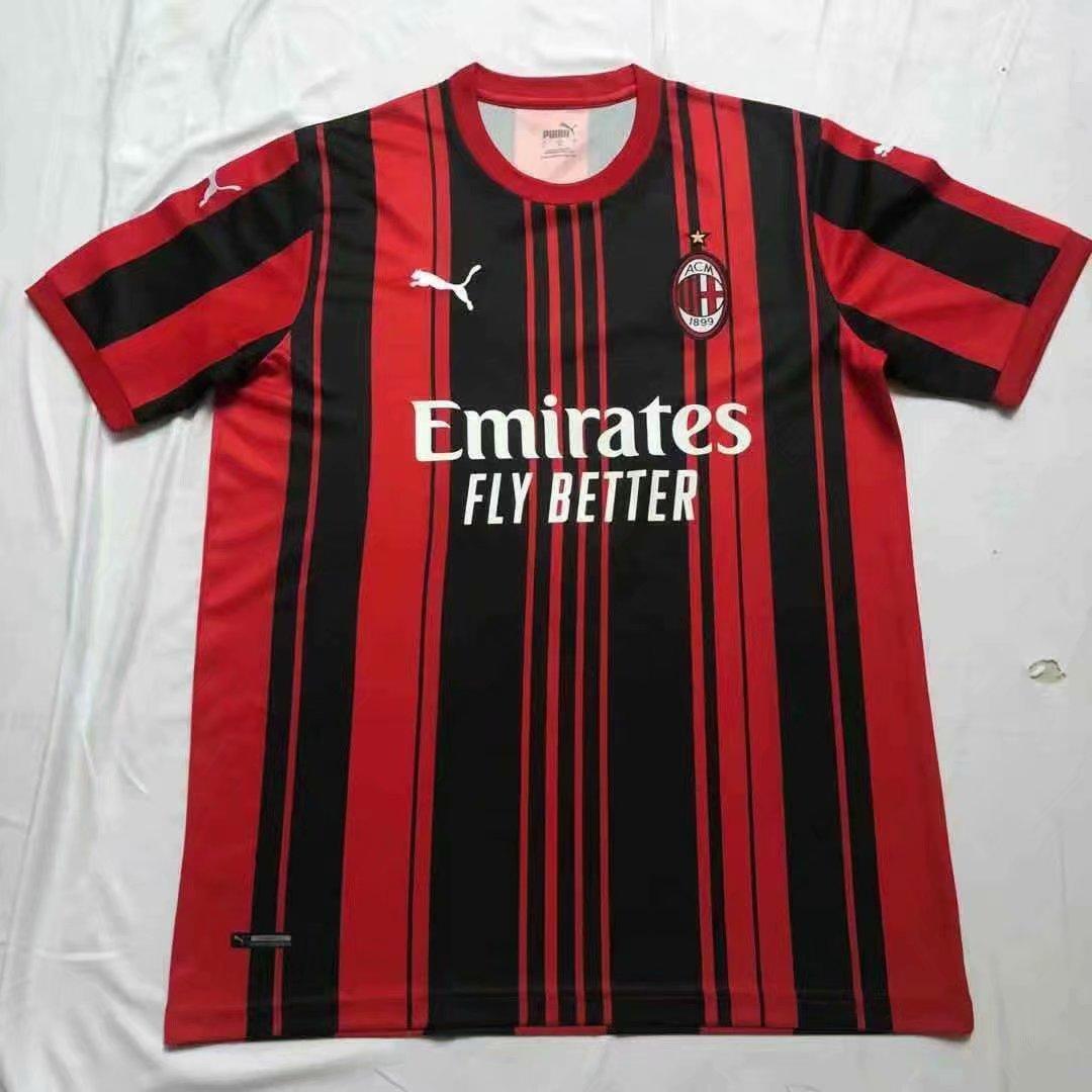 Футбольна форма Мілан AC Milan 2021-22 домашня