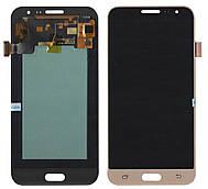 Дисплей + сенсор Samsung J320 J3 2016 Золотистий LCD TFT, з регулюванням яскравості