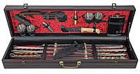 Шашлычный набор подарочный в кейсе Grand Picnic VIP ковка №1