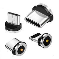 Магнитный 8-pin (Iphone) коннектор для кабеля TOPK |2.4А|
