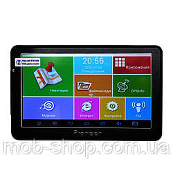 Надежный 7'' Планшет - GPS навигатор Pioneer 711 Android 4 Ядра 8 Gb (навигатор пионер на андроид)