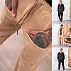 Р 44-54 Чоловічі вельветові брюки з високою посадкою 23585-2