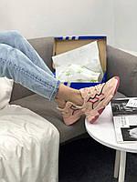 Женские кроссовки Адидас светлые кожаные розовые Adidas Ozweego Icey Pink купить в Украине