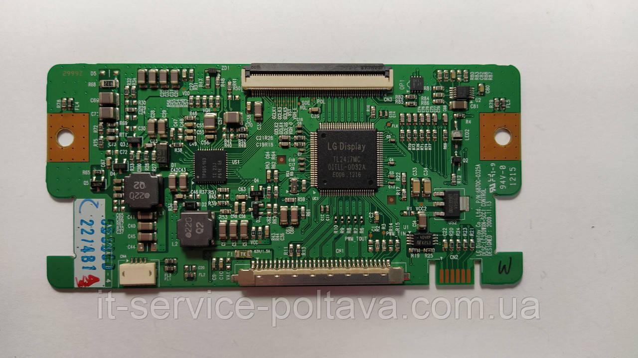 Плата T-CON 6870C-0325A для телевізора TOSHIBA 32AV933G