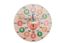 Модель демонстраційна годинник «Сова» 20 см, Розумний лис