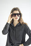 Солнцезащитные женские очки 0124-1, фото 6