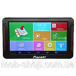 7'' GPS навигатор - планшет Pioneer 718 Android 4 Ядра 8 Gb (навигатор андроид с сенсорным экраном)