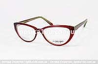 Оправа окулярів жіноча Corrado 83618. Бордово-зелена, фото 1