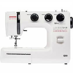 Обзор швейной машины Janome Q33