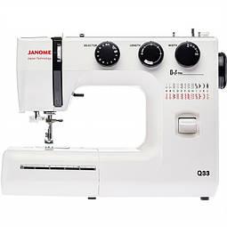 Огляд швейної машини Janome Q33