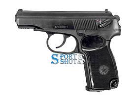 Пистолет пневматический МР-654к 32-й серии с чёрной рукоятью