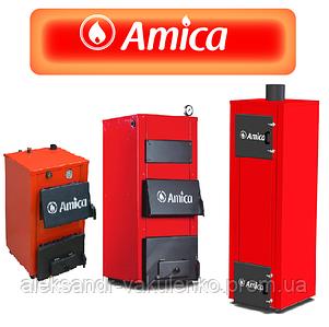 Акция на твердотопливные котлы Amica Optima, Solid - праздничные скидки.