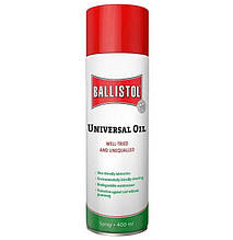 Масло збройне універсальне Klever Ballistol Universal (400мл), спрей