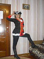 Взрослый карнавальный костюм Пиратка - прокат, киев, троещина