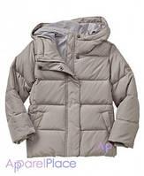 Gap Куртка серая на пуху для девочки
