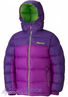 Marmot Куртка на пуху Girl's Guides Down Hoody(Bright Berry/Dark Berry)