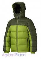 Marmot Куртка на пуху Boy's Guides Down Hoody(Green Lichen/Greenland)