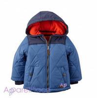 Carter's Куртка голубая Puffer Jacket 5-18