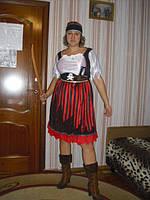 Взрослый карнавальный костюм Разбойница - прокат, киев, троещина