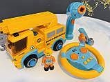 Эвакуатор на шурупах Машина- конструктор Limo Toy KB 033, фото 2
