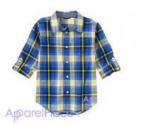 Gymboree Рубашка в клетку, Blue Plaid