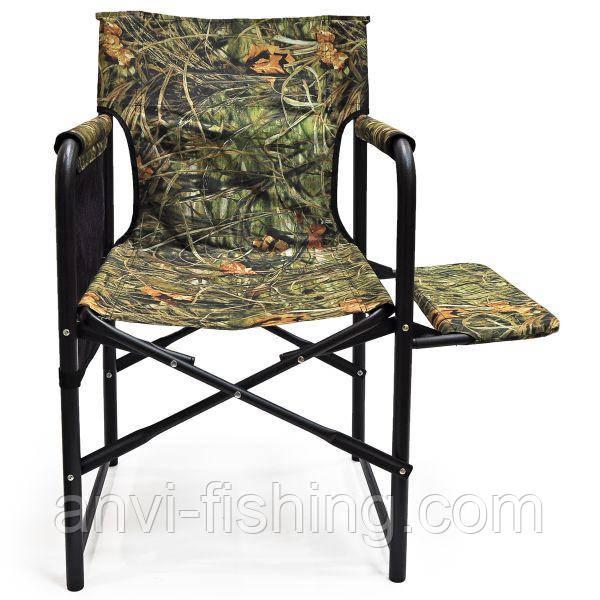 """Крісло розкладне """"Режисер"""" з полицею тканина - Камуфляж"""