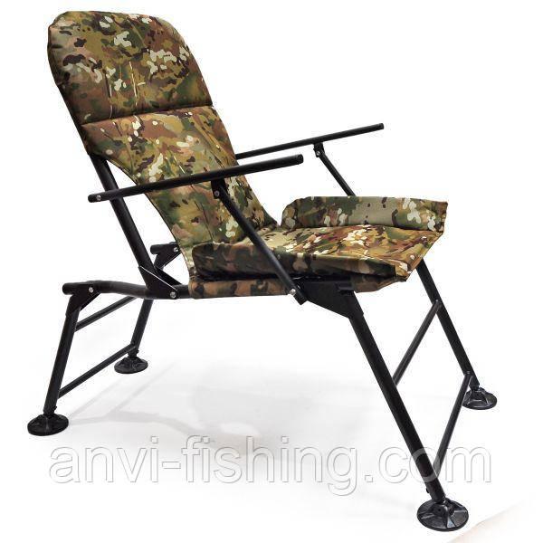 """Кресло раскладное Ralf """"Карп"""" с подлокотниками Камуфляж"""