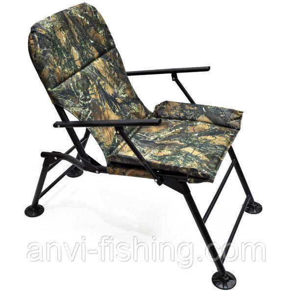"""Кресло раскладное Ralf """"Карп"""" с подлокотниками Лес"""