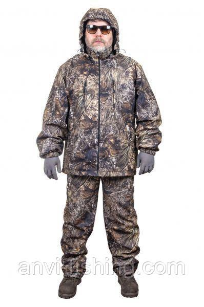 Демисезонный костюм для рыбалки и охоты - Anvi -5°C - Волк (ткань Алова)