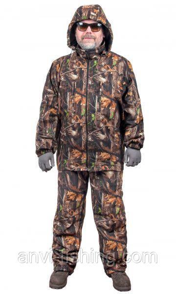 Демісезонний одяг для риболовлі та полювання - Anvi -5°C - Дуб Осінь (тканина Алова)