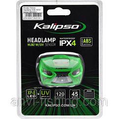 Налобный светодиодный фонарь Kalipso Headlamp HLB2 W/UV Sensor