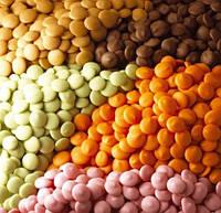 Цветной шоколад в ассортименте