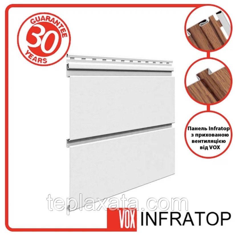 VOX INFRATOP Панель Софит со скрытой перфорацией (белый) 0,9 м2