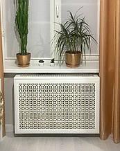 Как декорировать стальную батарею отопления