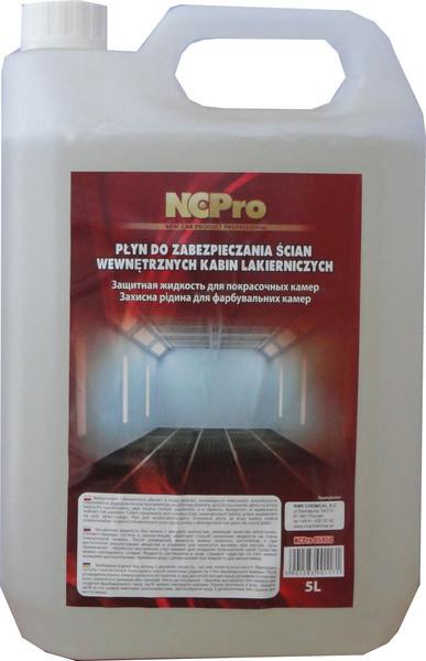 Жидкость для окрасочных камер NCPro 5л - Интернет-магазин AUTOSKLAD – краски, автоэмали, герметики, лаки, наборы инструментов, компрессоры в Днепре