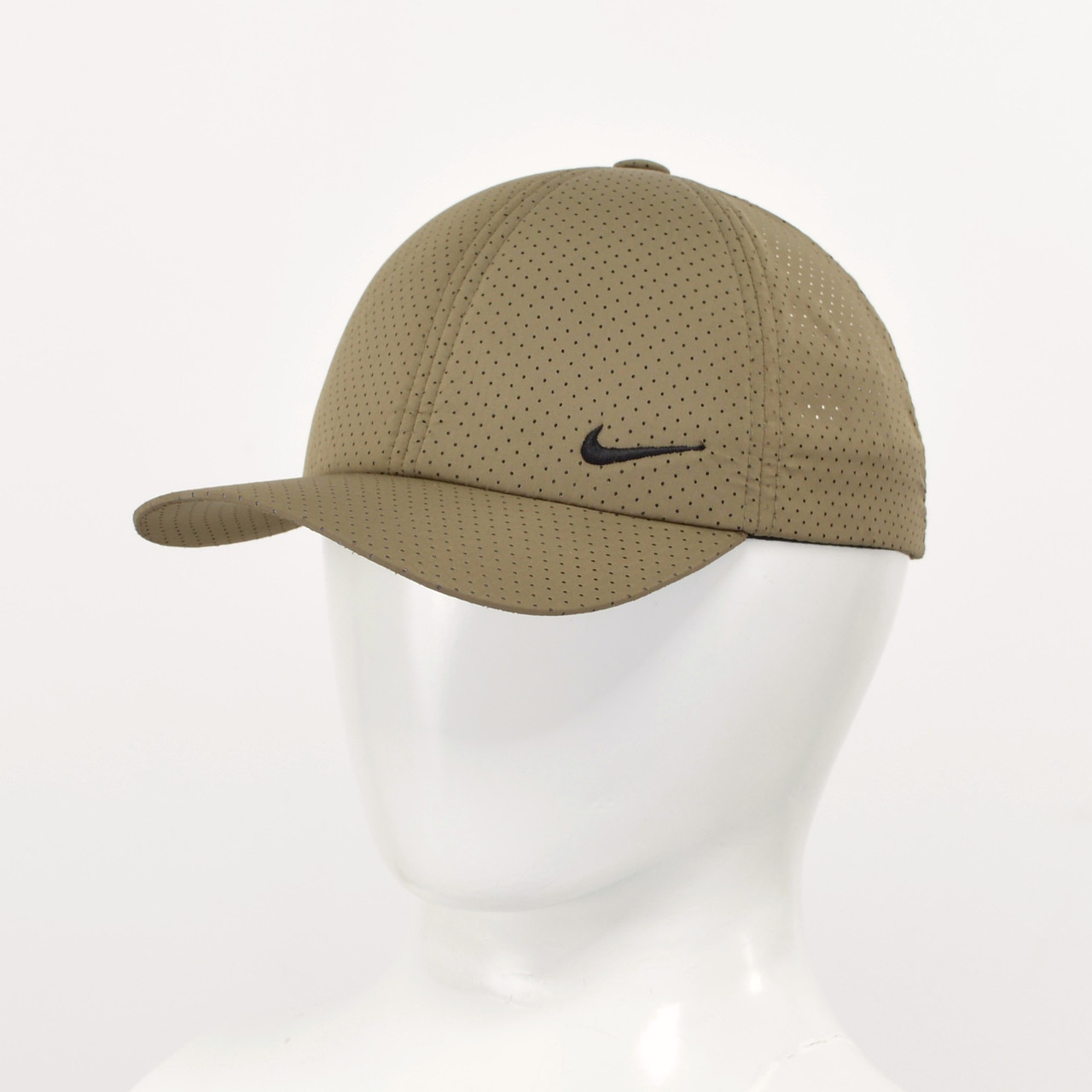 """Бейсболка """"Перфорація"""" Nike 2021 хакі"""