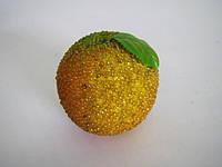 """Декоративный фрукт """"Апельсин с жемчужинами"""""""