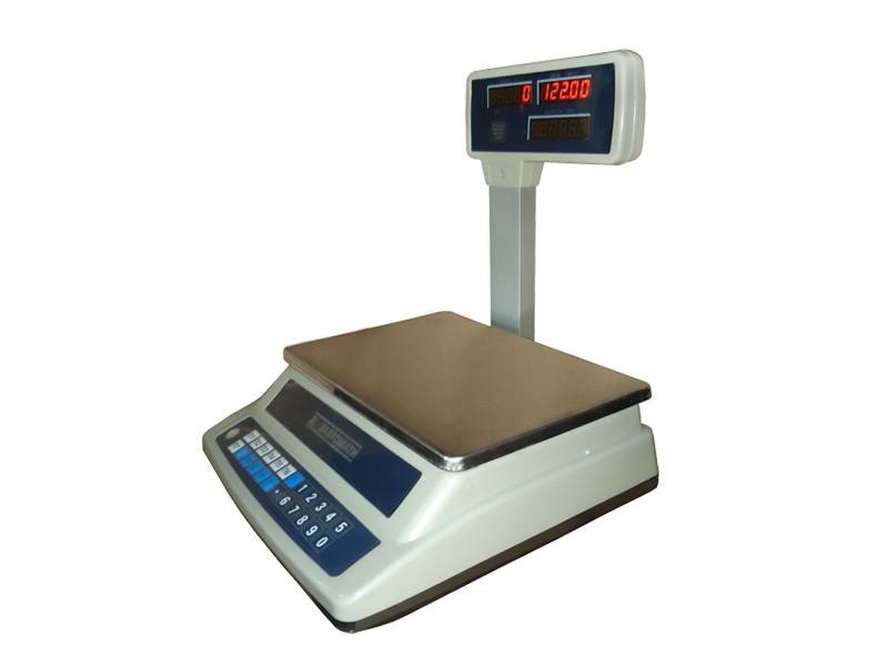 Весы торговые электронные со стойкой ВТНЕ-Т3 15кг (220*310мм)