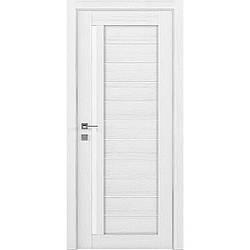 Міжкімнатні двері Rodos Модерн Bianca Каштан білий (полотно)