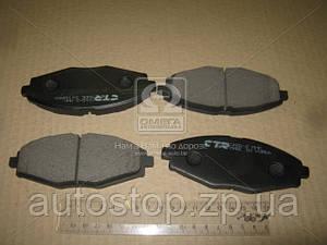 Колодки тормозные передние Daewoo Matiz 1998--2009 CTR (Корея) CKKD-2