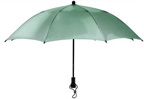 Привлекательный надежный  зонт-трость EuroSCHIRM Swing Flashlite W2F6SI17/SU13322 серебристый