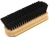 Щётки для чистки обуви-одежды 120mm, чёрная щетина, лакированная колодка